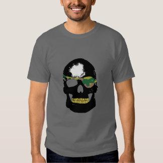 Cráneo -- Remiendo del ojo de Camo Polera