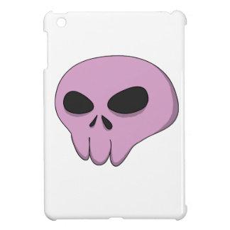 cráneo rosado del dibujo animado