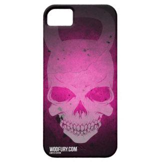 Cráneo rosado Kettlebell - edición limitada iPhone 5 Fundas