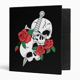 """Cráneo, rosas y daga carpeta 1"""""""