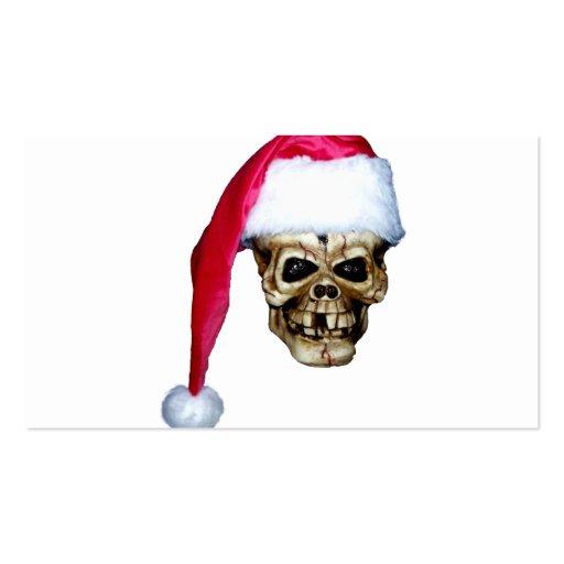 Cráneo Santa Tarjetas De Visita
