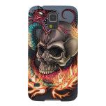 Cráneo + Serpiente Carcasas De Galaxy S5