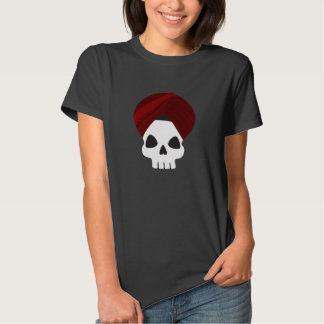 Cráneo sikh remeras