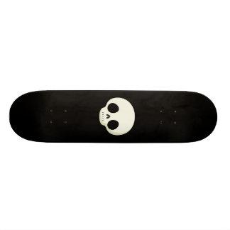 Cráneo simple del dibujo animado patines personalizados