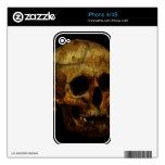 Cráneo Skins Para eliPhone 4S