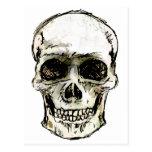 Cráneo sonriente postales