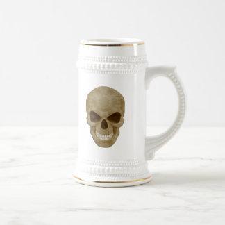 Cráneo Stein del camuflaje Jarra De Cerveza