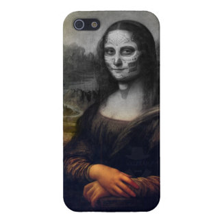 cráneo sudar de Mona Lisa iPhone 5 Cárcasa