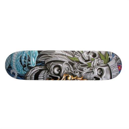 cráneo tablas de skate