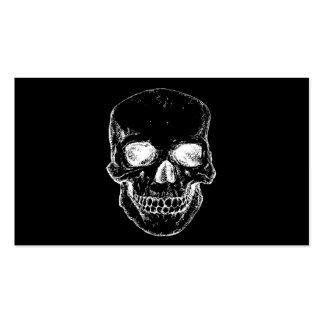 cráneo tarjetas de visita