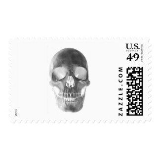 cráneo timbre postal