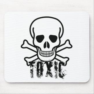 Cráneo tóxico alfombrilla de ratones