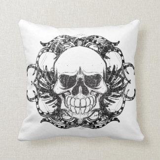 Cráneo tribal almohada