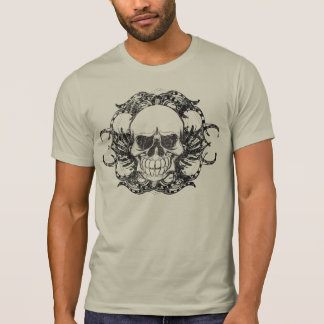 Cráneo tribal camisetas