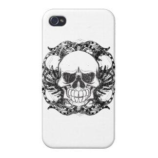 Cráneo tribal iPhone 4/4S funda