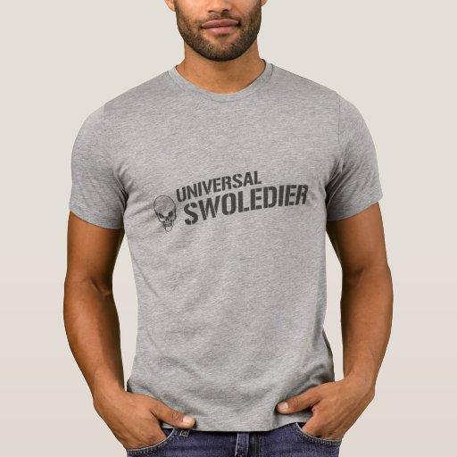 Cráneo universal de Swoledier Camisetas