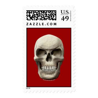 Cráneo vampírico malvado franqueo