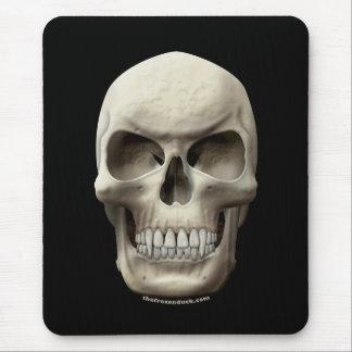 Cráneo vampírico malvado tapetes de raton