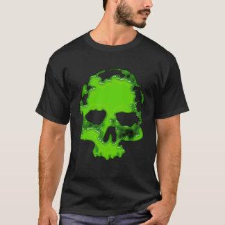 cráneo verde playera