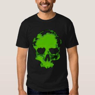 cráneo verde remeras