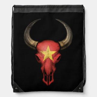 Cráneo vietnamita de Bull de la bandera Mochilas