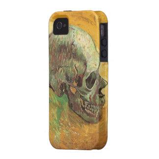Cráneo, Vincent van Gogh, arte del impresionismo d iPhone 4 Carcasa