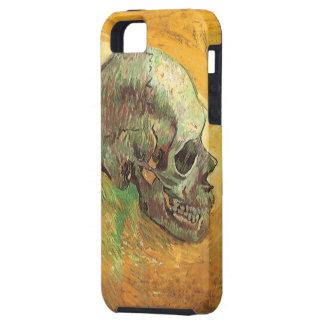 Cráneo, Vincent van Gogh, arte del impresionismo d iPhone 5 Case-Mate Fundas