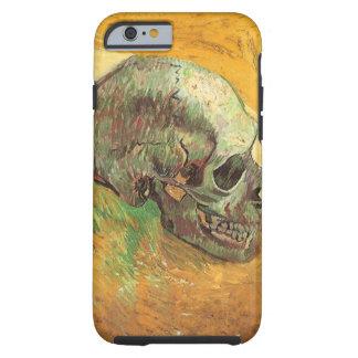 Cráneo, Vincent van Gogh, arte del impresionismo Funda De iPhone 6 Tough