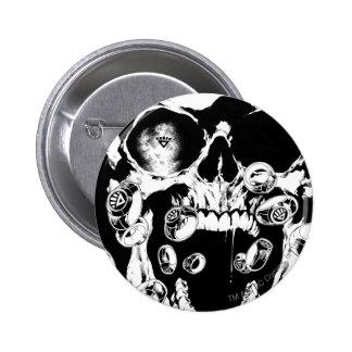 Cráneo y anillos pin