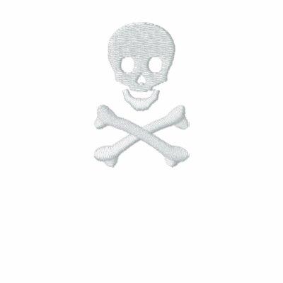 Cráneo y bandera pirata sudadera con serigrafia