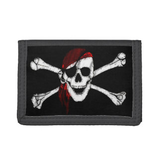 Cráneo y bandera pirata del pirata