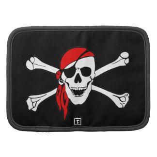 Cráneo y bandera pirata Rogelio alegre de bandera  Planificadores