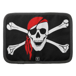 Cráneo y bandera pirata Rogelio alegre Planificadores