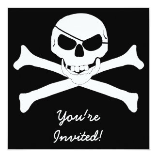 Cráneo y bandera pirata - Rogelio alegre Anuncio