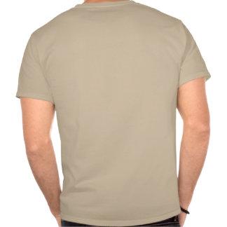 Cráneo y Barbell - camisa de la fraternidad del