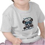 Cráneo y Binky del Muttahida Majlis-E-Amal del Camisetas