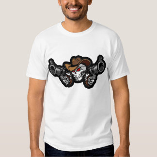 Cráneo y camisa de los armas