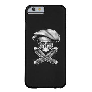 Cráneo y costillas del cocinero funda de iPhone 6 barely there