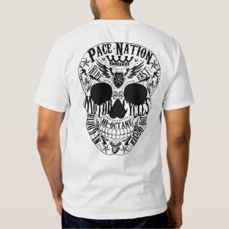 Cráneo y eje de balancín del PN Camisas