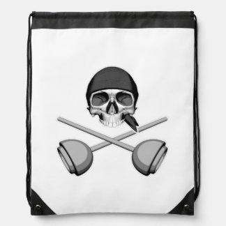 Cráneo y émbolos mochilas