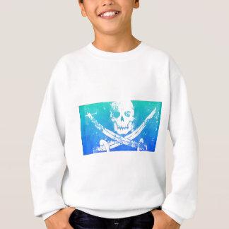 Cráneo y espadas abstractos del pirata sudadera