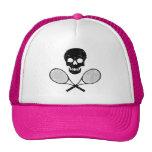Cráneo y estafas de tenis gorras de camionero