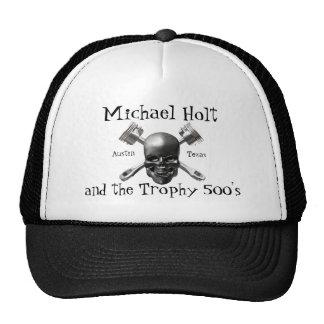 Cráneo y gorra de los pistones