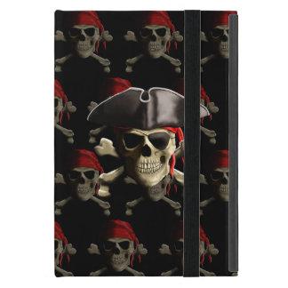 Cráneo y gorra del pirata iPad mini protector