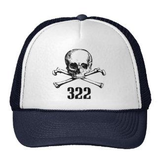 Cráneo y huesos 322 gorras