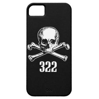 Cráneo y huesos 322 iPhone 5 fundas