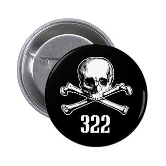 Cráneo y huesos 322 pin