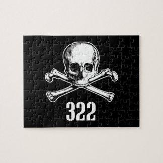 Cráneo y huesos 322 puzzle