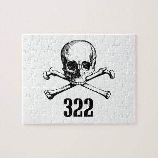 Cráneo y huesos 322 puzzles