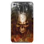 Cráneo y huesos góticos frescos barely there iPod cobertura
